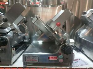 Berkel 909 Commercial Gravity Feed Deli Meat Slicer