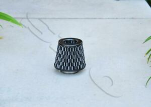 4 Carbon Fiber Short Ram High Flow Mesh Replacement Air Intake Cone Filter