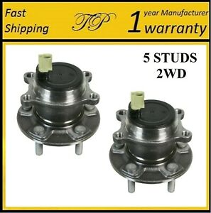 Rear Wheel Hub Bearing Assembly For Ford Focus 2wd Titanium 2013 2016 Pair