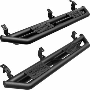 Oedro 6 Tri Tube Armor Running Boards For 2005 2021 Tacoma Double Crew Cab