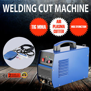 New 110vv Ct312 Pilot Arc Plasma Cutter Tig mma Welder 3in1 Welding Machine