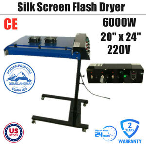 Us Stock 220v 20 X 24 Automatic Ir Flash Dryer With Sensor For Screen Printing