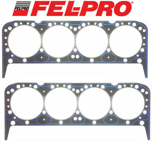 Fel Pro Performance 1034 Head Gaskets 2 For Chevy Sbc 283 302 327 350 383 400