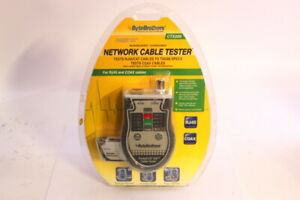 Ctx200 Pocket Cat Lan Tester For Rj45 Cat5 Cat6 And Coax Cables Byte Brothers