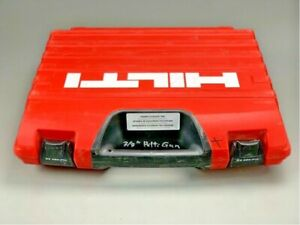 Nice Hilti Dx 460 F10 Powder Actuated Fastener Nail Gun W Case Lightly Us