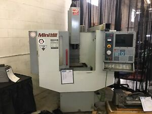 Used Haas Mini Mill Cnc Vertical Machining Center Mill W Tooling 4th Ready 2001