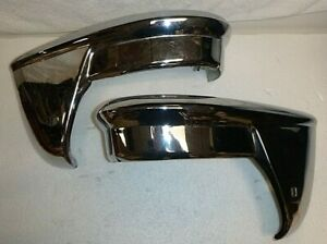 1955 Chevy Rear Bumper Guards Oem