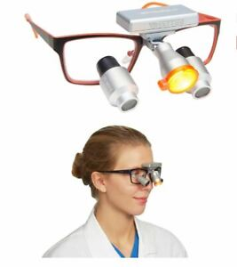Wireless Cordless Led Dental Medical Butterfly Headlight For Loupes Light