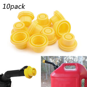 10x Yellow Spout Cap Top For Blitz Fuel Gas Can 900302 900092 900094 Bs3