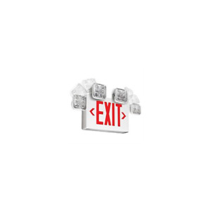 Pack Of 6 Emergi lite Elxn400r 2sql Exit Sign With Led