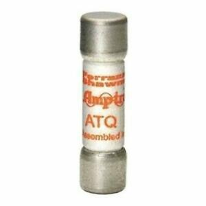 Pack Of 10 Mersen Atq2 Time Delay Fuse