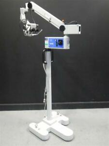 Zeiss Opmi 1 Fc On S21 Surgical Microscope Dental Ent Tested