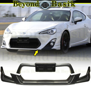 For 2013 2014 2015 2016 Scion Fr S 2 Piece Trd Front Bumper Lip Body Kit