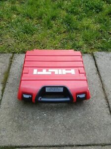 Hilti Dx 2 Powder Actuated Tool 1 Plastic Case Only Free Shipping