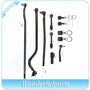 All 11 Front Sway Bar Ball Joint Suspension Kit For 1998 99 Dodge Ram 2500 Hd