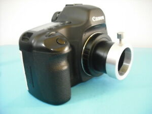 Olympus Bh2 To Canon Eos T2 Tube With Bh2 Adapter For Aps c Sensor Rebel Mark