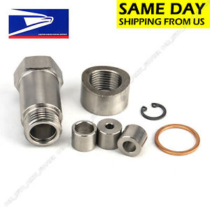 New O2 Oxygen Sensor Restrictor Fitting Adjustable Gas Flow Inserts With Bung