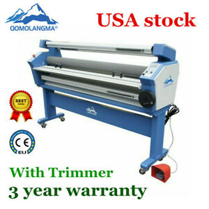 Qomolangma 63in Full auto Heat Assisted Large Format Cold Laminator trimmers 3
