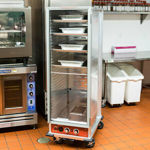 Full Size Non insulated Nsf Heated Holding Proofing Cabinet W Clear Door