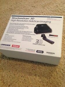 New Lowrance Structure Scan 3D With Transom Mount Transducer Father's  Day Speci