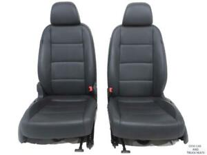 Volkswagen Vw Jetta Oem Anthracite Vtex Leatherette Seats 2006 2007 2008 2009
