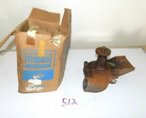 Nos Ford Water Pump Y Block Industrial Engine C3je 8505 a