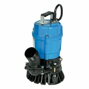 Hs2 4s 62 Tsurumi Submersible Trash Pump W Agitator 2 Discharge 54 Hp 1