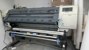 Hp Designjet L25500 Printer Working But Needs Cleaning Comp And Software Inc