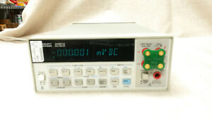 Hp Agilent Keysight 34401a 6 5 Digit Digital Multimeter Calibrated