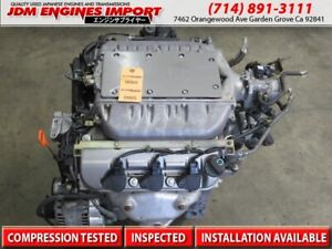 99 00 01 02 Honda Accord 3 0l Engine Replacement Jdm J30a Acura Tl 3 2l