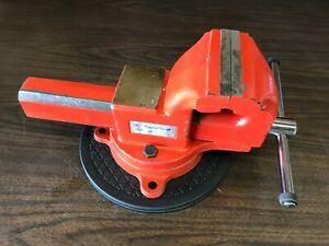 Snap On Tools Wve105rt 5 Blue Point Bench Vise W Swivel Base