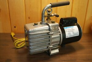 Jb Vacuum Pump Dv 142n 5 Cfm 1 2 Hp 2 Stage Made In Usa Hvac Tool