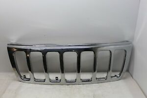 Outter Grille Chrome For Jeep Grand Cherokee 1999 2000 2001 2002 2003