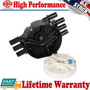 New Distributor Cap For Acdelco Rotor D465 1045245710452458 D328a 4 3l Kit Usa