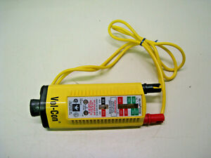 Used Ideal 61 076 Vol con Solenoid Voltage Tester 120 600 Free Shipping