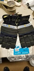 Pro tech 8 Evolution Structural Firefighting Short Cuff Gloves Size Xl New