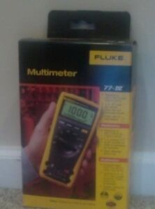 Multimeter Fluke 77 iv New In Box