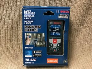 Bosch Laser Levels Laser Measure 165 Ft Glm 50 Cx New In Box Ships Free