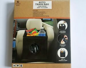 Auto Car Vehicle Garbage Can Trash Bin Waste Container Leak Proof Easy To Clean