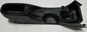 1994 1998 Ford Mustang Oem Black Center Console Cup Holder Ashtray Cubby Shifter