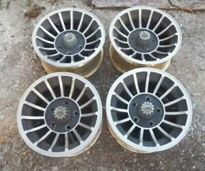 4 Vintage 15x7 Rocket Industries Hurricane Mag Wheels Ford Pattern 5 On 5 1 2