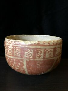 Pre Columbian West Mexico Jalisco Beautifully Decorated Bowl 250bce 250ce