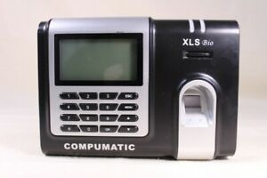 Compumatic Xls Bio Biometric Fingerprint Time Clock System
