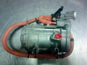 2013 2017 Ford Fusion A c Ac Air Conditioner Compressor 2 0l Hybrid Electric
