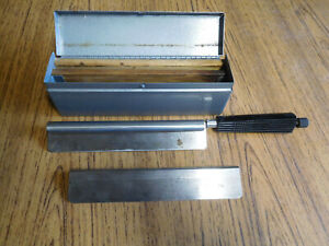 Vintage Lipshaw Microtome Knife Blades Aa1047 Free Shipping