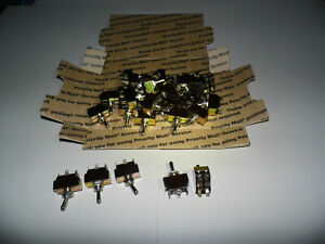 30pcs Heavy Duty 20a 125v Dpdt 6 pin 3 position Toggle On off on Free Shipping
