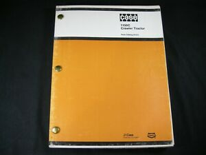 Case 1150c Crawler Bulldozer Tractor Part Manual Catalog Book Guide A1373 Dozer