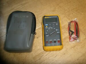 Fluke 87 Iii True Rms Digital Multimeter W case Leads
