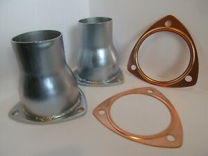 Exhaust Header Collector Reusable Copper Gasket Set 3 1 2 Sbc Bbc 9383 7503x