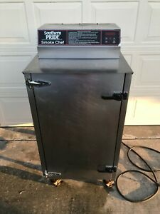 Southern Pride Sc 200 Smoke Chef Oven Electric Bbq Smoker Stainless